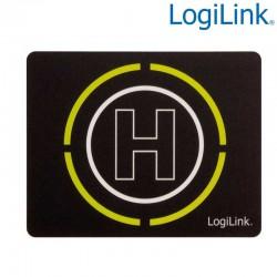 Logilink ID0146 - Alfombrilla Fluorescente ultra fina''Glimmer'', Diseño Helipuerto