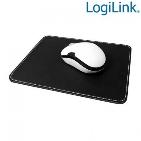 Logilink ID0150 - Alfombrilla de cuero color Negro | Marlex Conexion