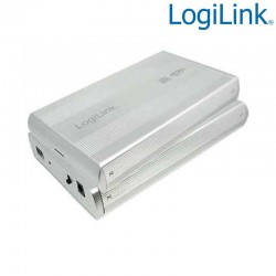 "Caja Externa 3,5"" Aluminio. Hdd Sata - USB 3.0, Plata Logilink UA0107A"
