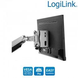 Logilink BP0066 | Soporte para Thin Client, VESA y bajo mesa | Marlex