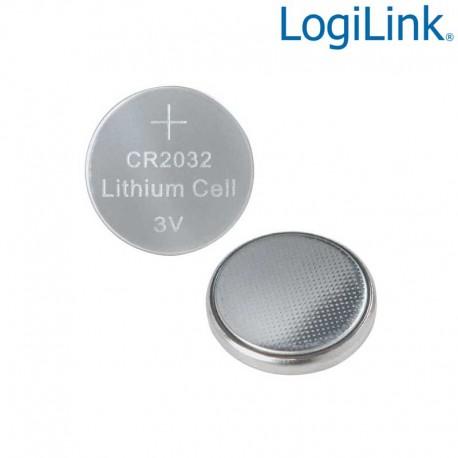 Logilink CR2032B10 - Pila Placa Base CR2032 de Lithium 3V (10 Pcs)   Marlex Conexion