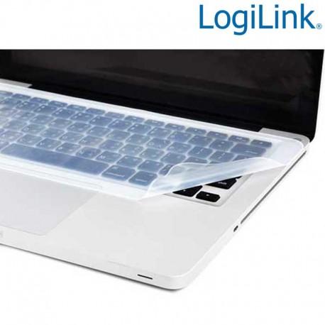 Logilink NB0044 - Alfombrilla Protectora para Teclado Notebook | Marlex Conexion