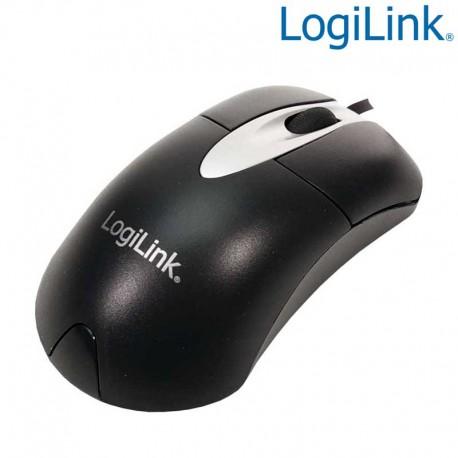 Logilink ID0011 - Ratón Optico 800dpi Negro, USB   Marlex Conexion