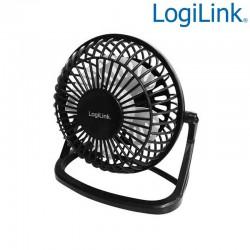 Logilink UA0192 - Mini Ventilador USB, Ultra Silencioso | Marlex Conexion